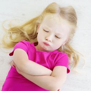 toddler expressing feelings